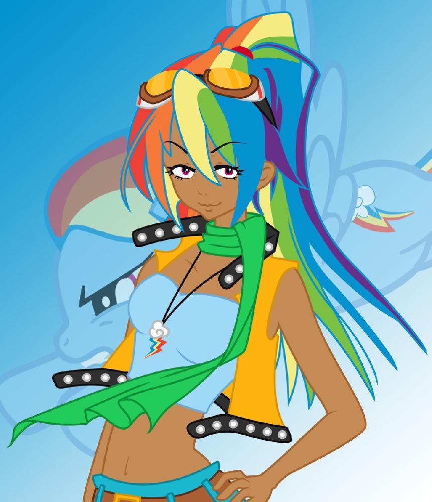 Rainbow Dash Sai Speedpaint  YouTube