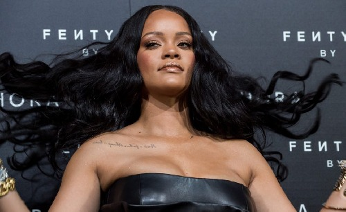Rihanna Fenty Beuty Italie april 2018
