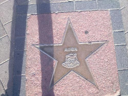 Hvězda ABBA v zábavním parku Liseberg (Göteborg)
